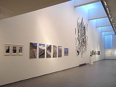 """Ausstellungsansicht """"SilvrettAtelier 2004"""" Kemi Art Museum, Finnland 2006"""