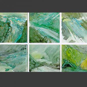 Gletscher Sequenzen