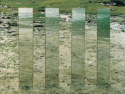 """""""Vermuntsee"""", Translokationen Spiegelungen, 2000, analoge Fotografie"""