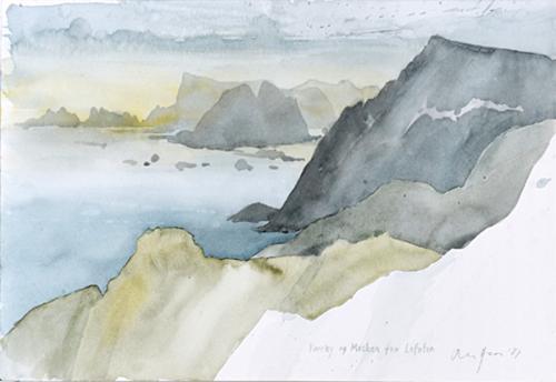 Værøy og Mosken, Lofoten, 1987
